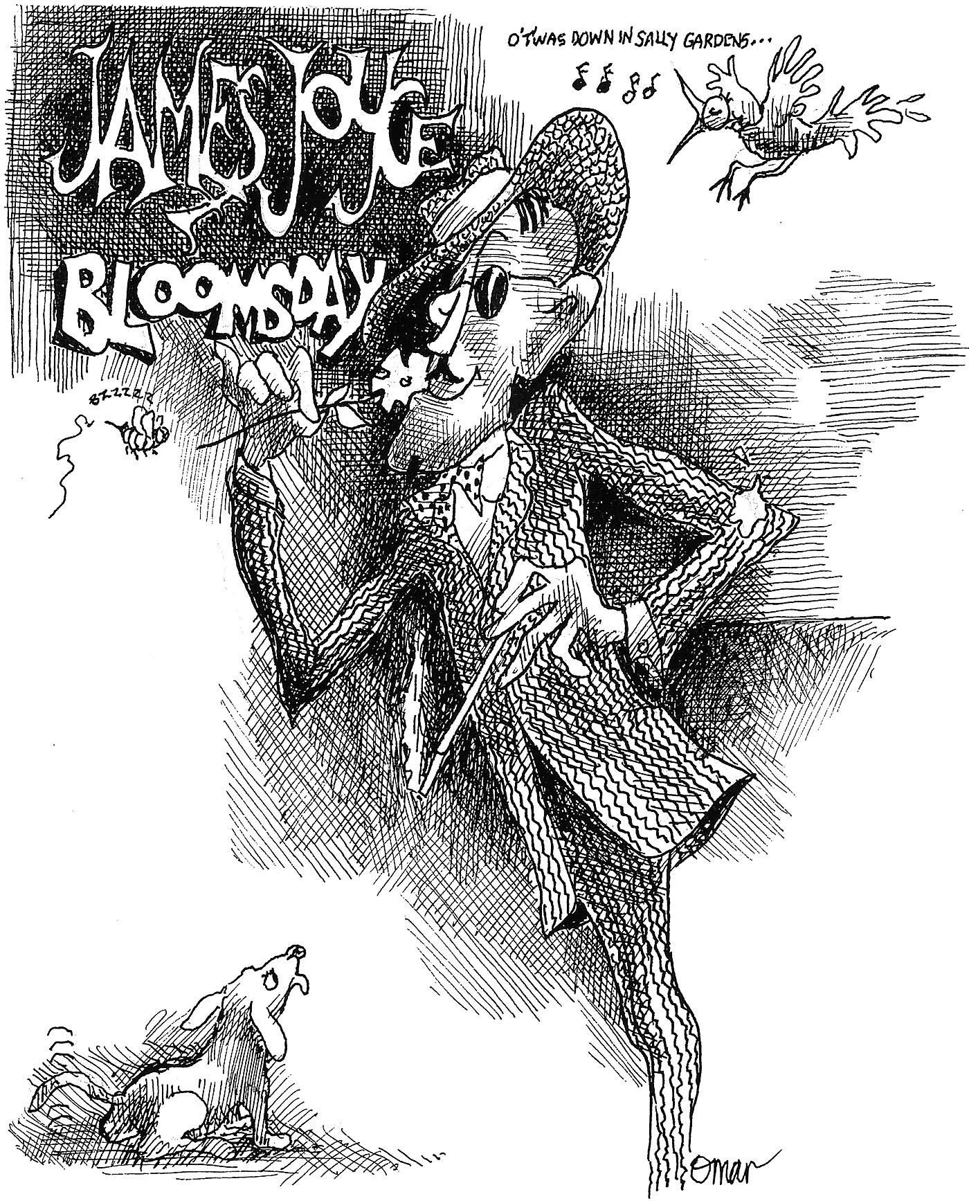 Bloomsday participants