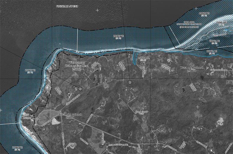 The Vineyard Gazette Marthas Vineyard News FEMA Maps Project - Fema map search