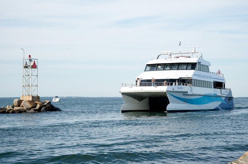 Block Island Fast Ferry Quonset