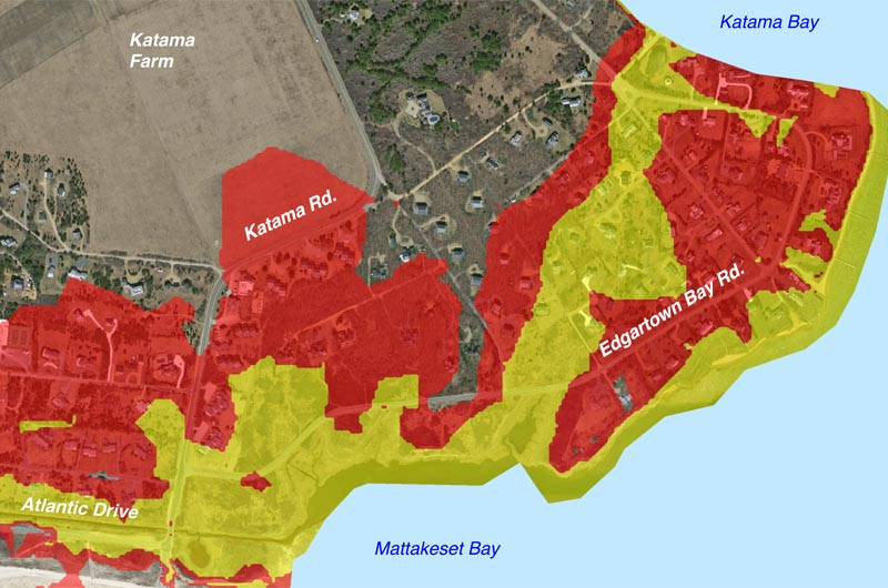 The Vineyard Gazette Marthas Vineyard News New Forecasts - Water level map