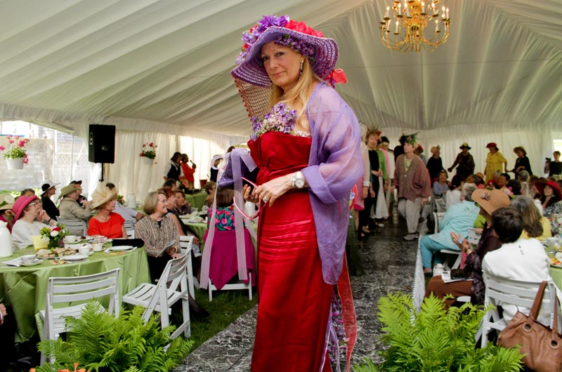 Spring Cocktail Garden Party Celebrity Fashion Show Hearing
