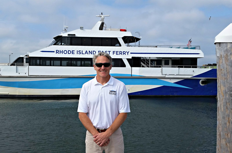 Charles A Donadio Jr Owner Of Rhode Island Fast Ferry Co
