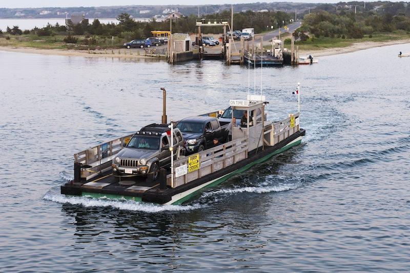Ferry Car Edgartown Martha S Vineyard