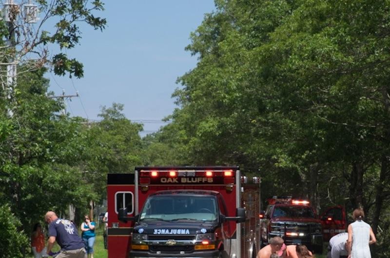 The Vineyard Gazette Martha S Vineyard News Moped Accident On