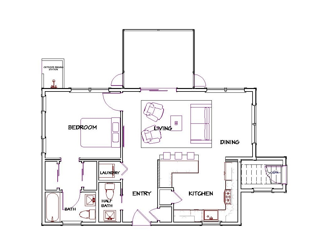 100 How Big Is 800 Sq Ft Floor Plan 800 Sq Ft House