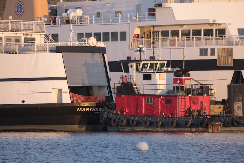 Ferry Martha's Vineyard Towed Back to Island After Losing Power