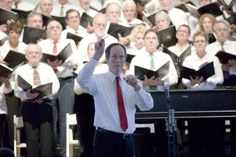 Peter Boak conducting