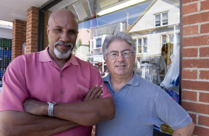 Dennis daRosa and Bob Glover