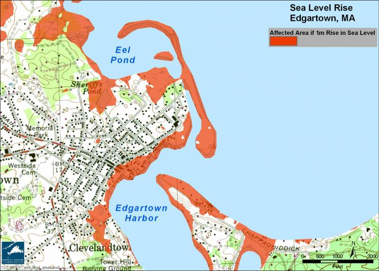map of Edgartown