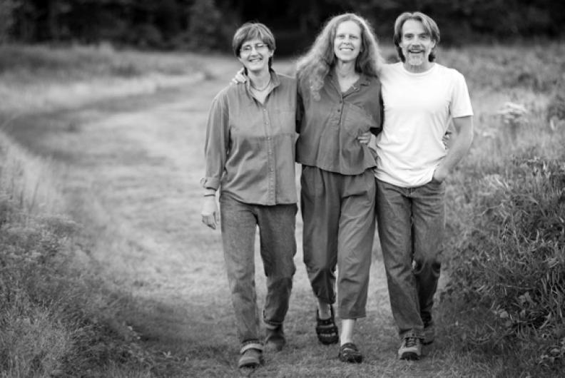 Cindy Kallet, Ellen Epstein and Michael Cicone