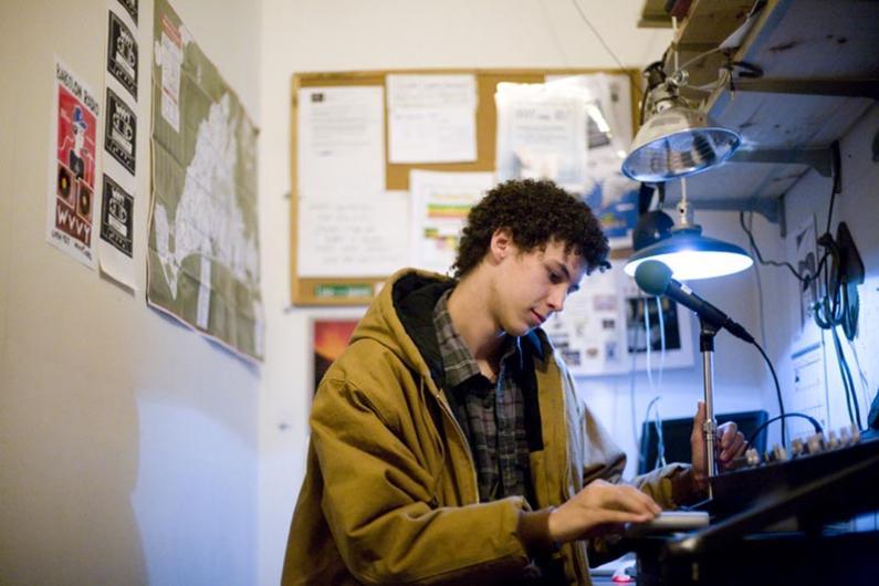 ben williams controls the radio