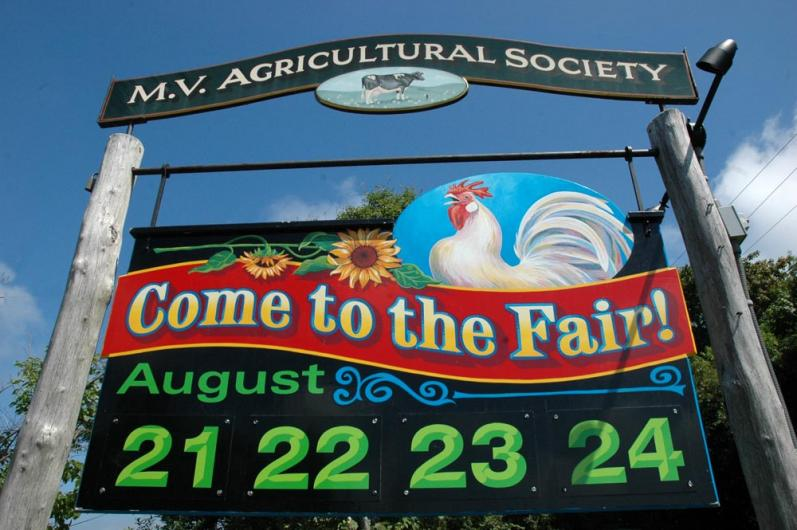 Ag fair sign