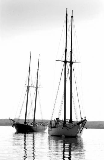 Shanandoah and Alabama schooners