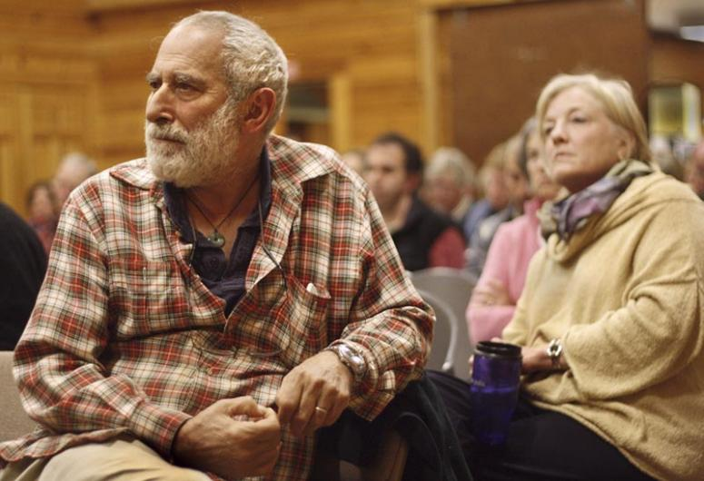 zack weisner listens in on town meeting