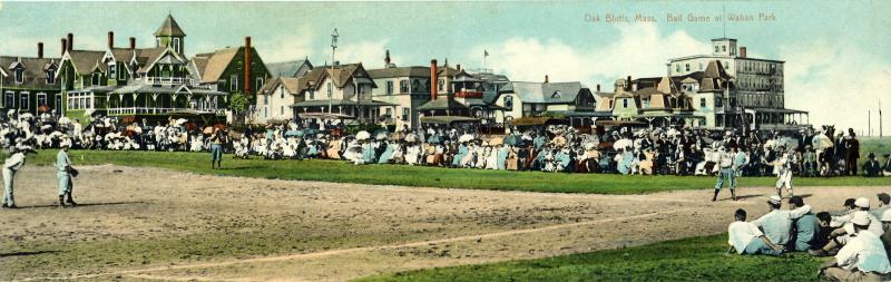 baseball game at Waban Park 1910