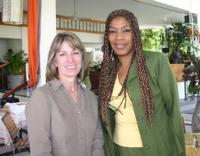 Jeanne Staples and Marie-Laurence Jocelyn Lassegue