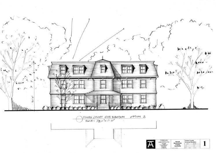 elevation of building