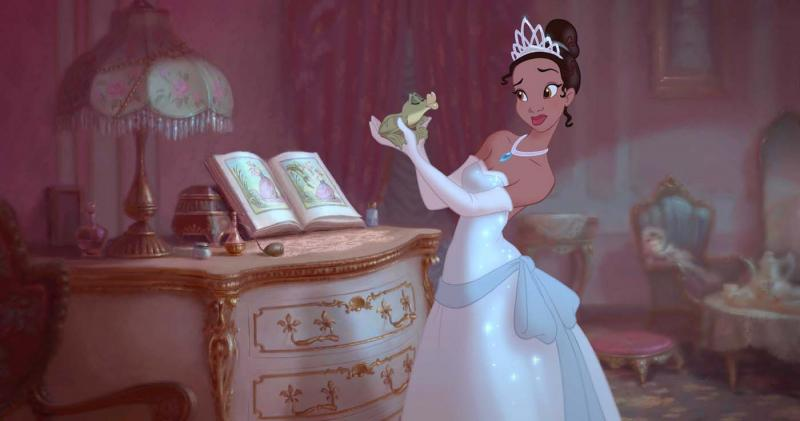princess and frog