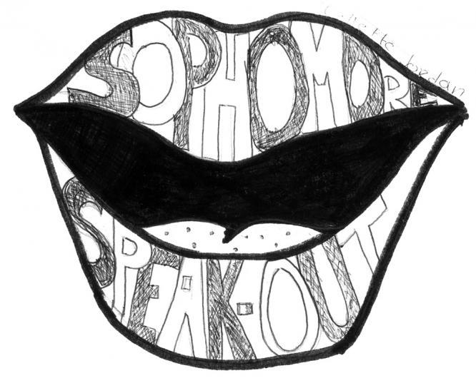 sophomores speak out logo
