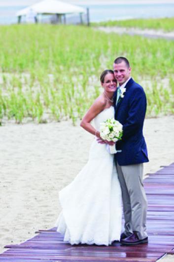 Katie Litwinowich and Stephen Meinelt