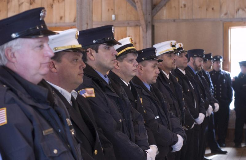 Firemen pay respect to Danny Prowten