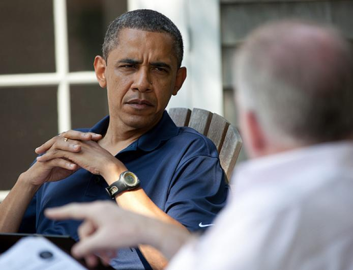 president obasma briefing