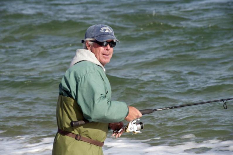 Ralph Peckham fisherman