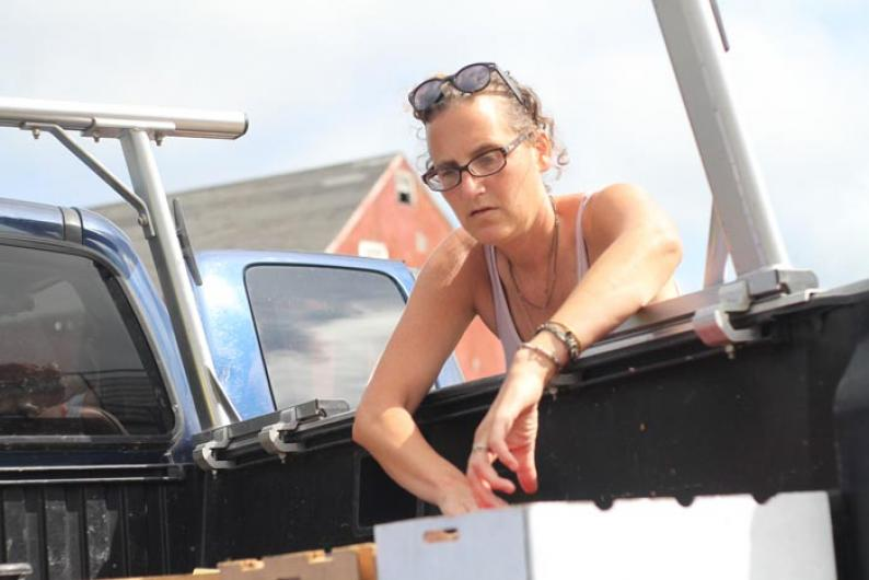 Julie Sierputoski truck