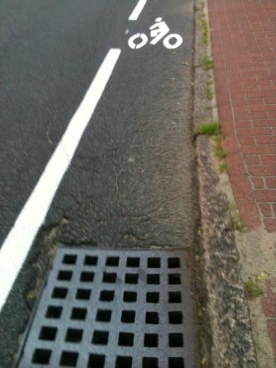 bicycling lane