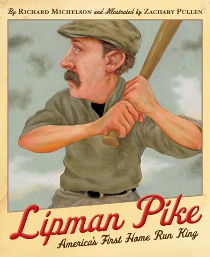 Lipman Pike batter base ball book