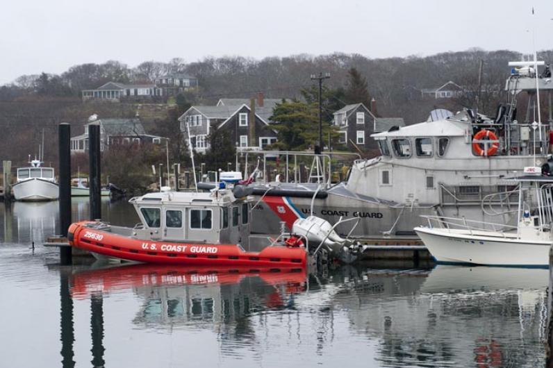 Menemsha Coast Guard boat