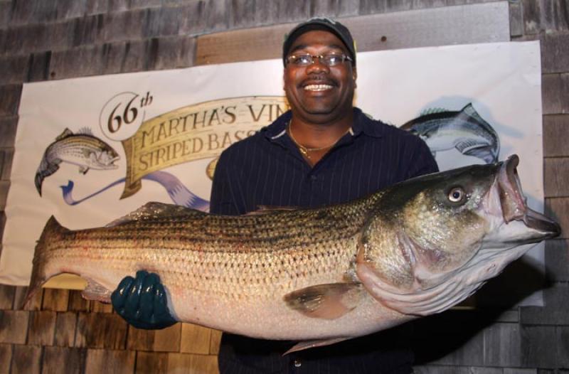 Emanuel Thomson and fish