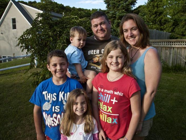jared meader and family