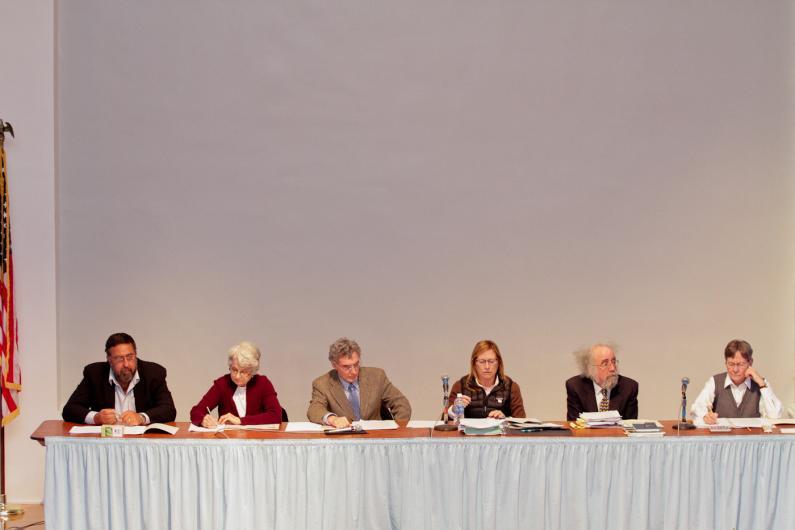 Edgartown town meeting