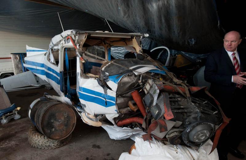 Damaged Wreckage