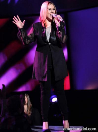 Erika Van Pelt American Idol