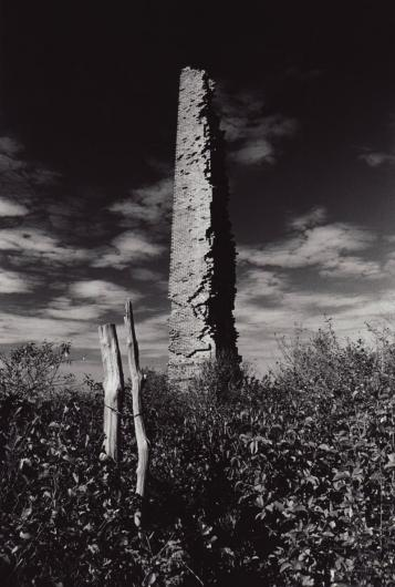 Chilmark brickworks near Menemsha Hills, where clay was once harvested to make bricks.
