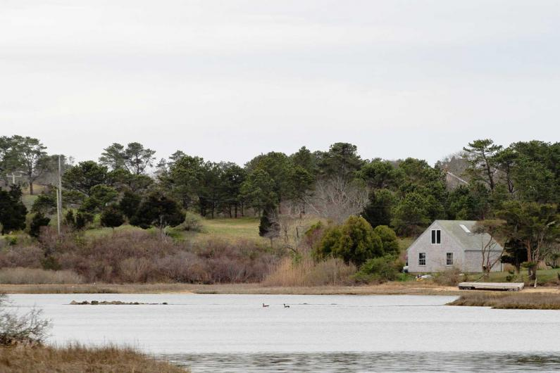 Chilmark Pond house