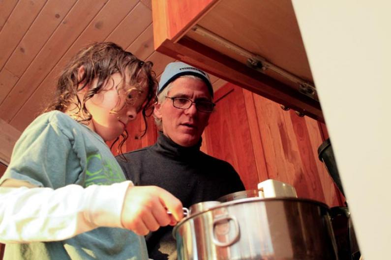 Robert Jack Lionette cooking