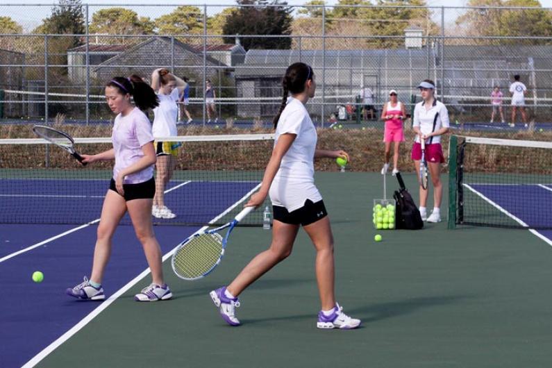 Annie Burton girls tennis