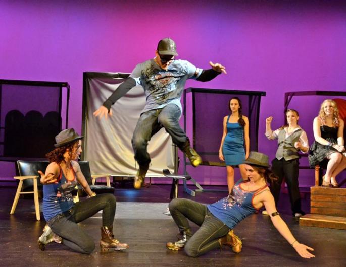 Gossip BravEncore high school play