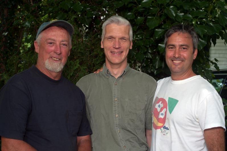 VineyardSteve Ewing, Dan Waters Justen Ahren.
