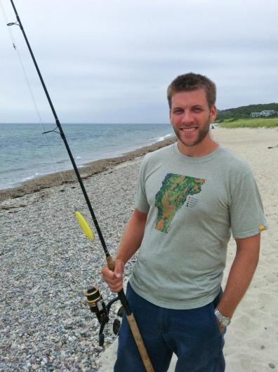 Nathan Jandl beach fishing pole