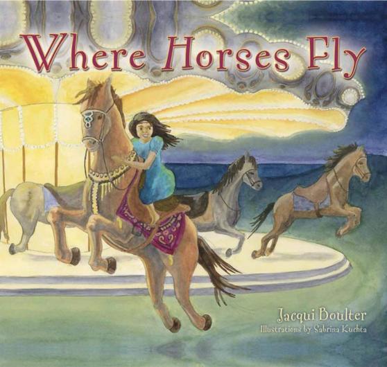 where horses fly