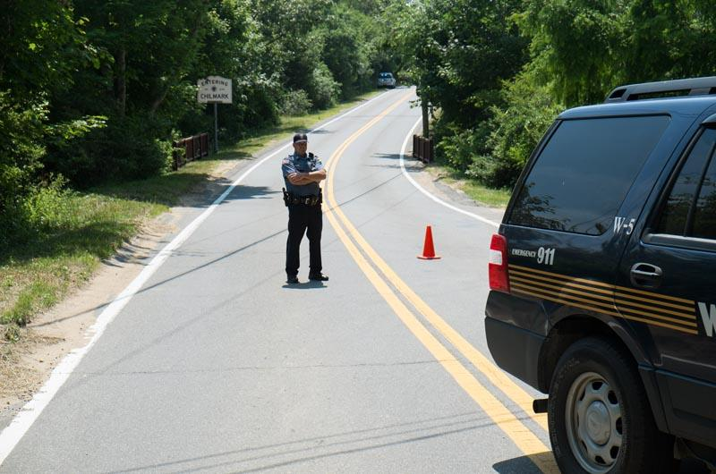 Part of State Road was closed Wednesday afternoon.