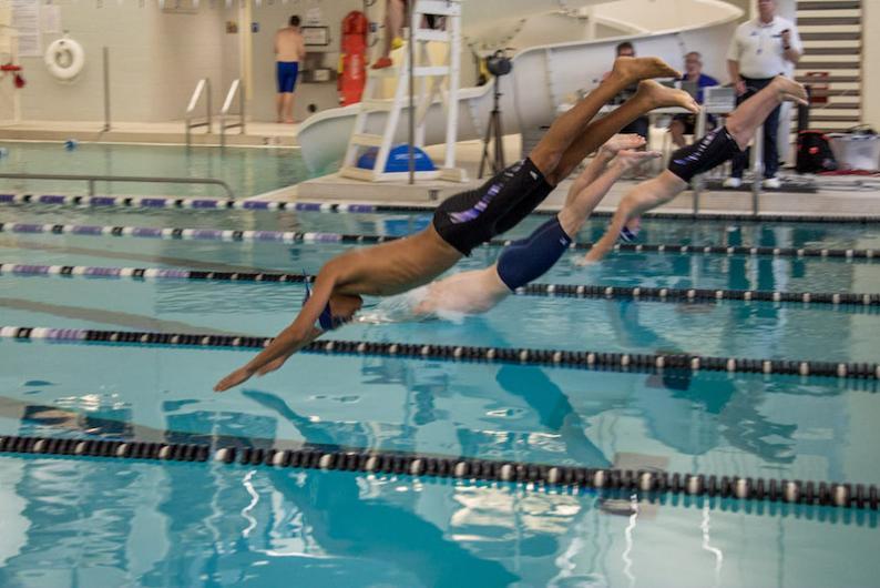 Summer swim team starts the season with a splash | Garden