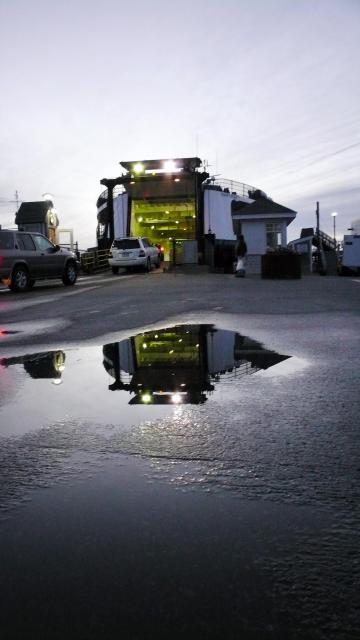 ferry loading