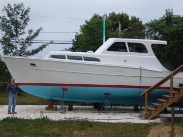 Cyntha Riggs boat