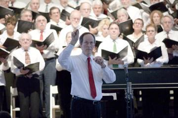 Peter Boak conducting