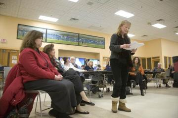 addressing the school committee